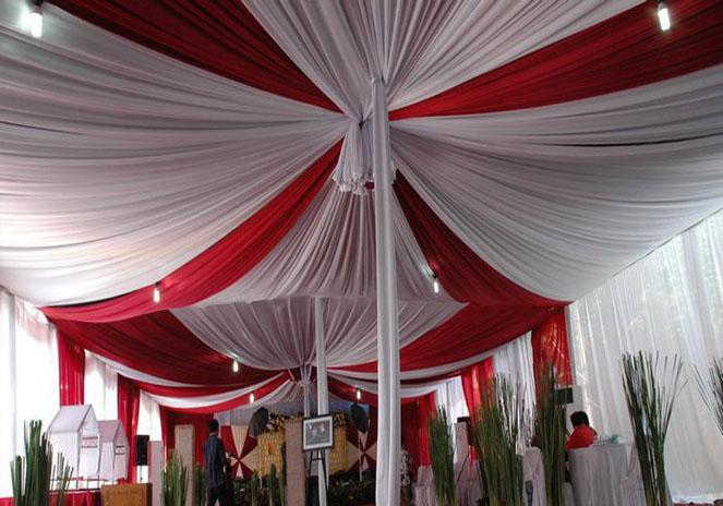 tenda balon putih, merah (2)